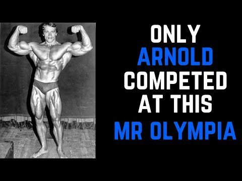 Mr Olympia 1971 Only Arnold Schwarzenegger competed [HINDI]