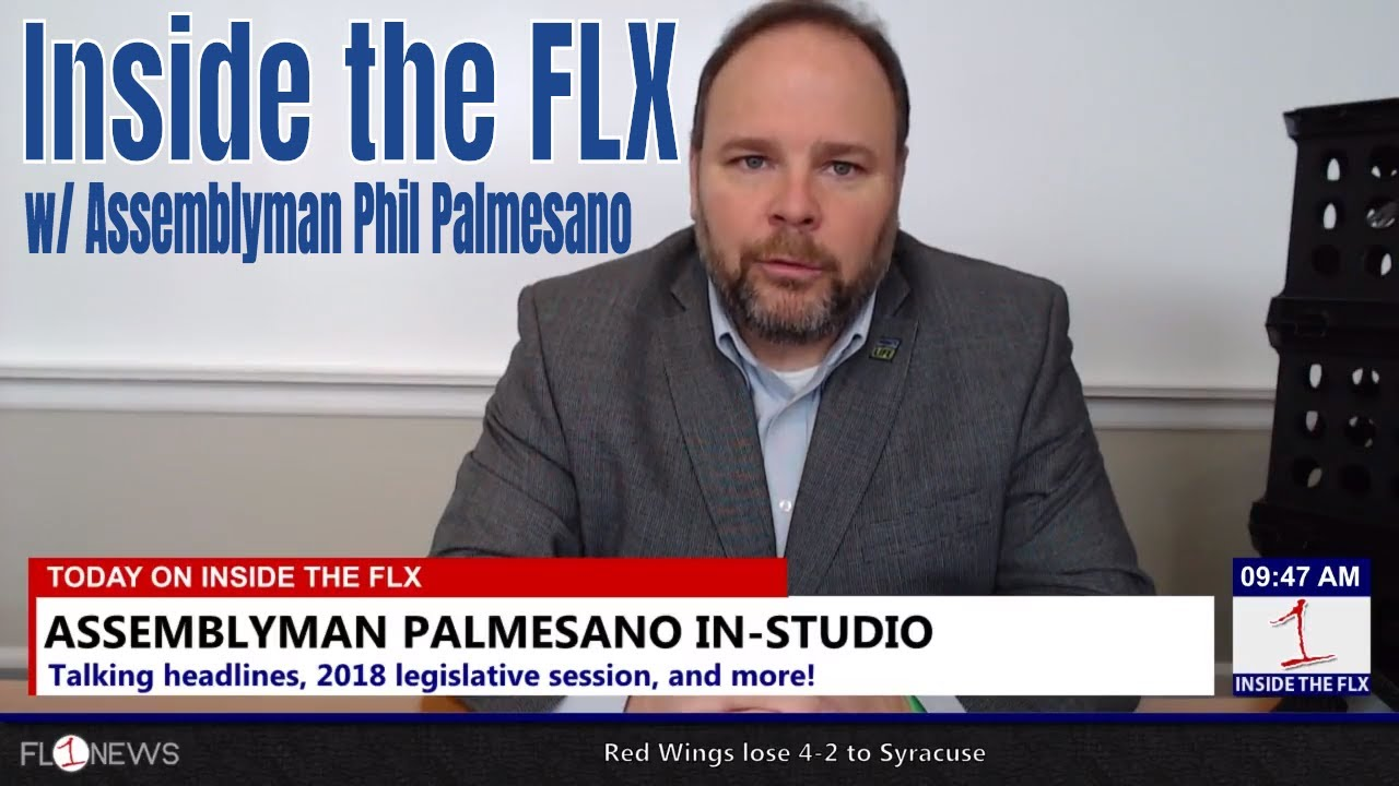 Assemblyman Phil Palmesano talks issues, incinerator .::. Inside the FLX 5/18/18