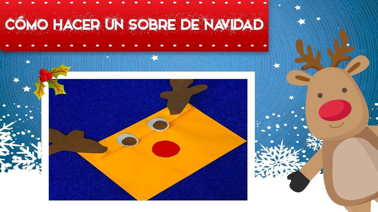 Sobres de navidad manualidades de navidad manualidades - Manualidades infantiles para navidad ...
