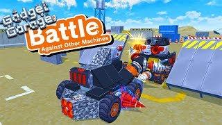 GADGET GARAGE - BUILDING A WAR ROBOT VS THE LITTLE CLUB!