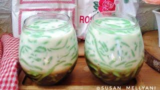 Download Cendol tepung beras,resep dan cara bikin cendol tepung beras enak dan kenyal
