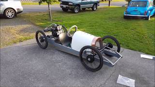 1929 Fiat Gipsy cyclekart build