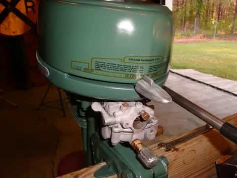 Elgin Outboard Motor Restoration Youtube