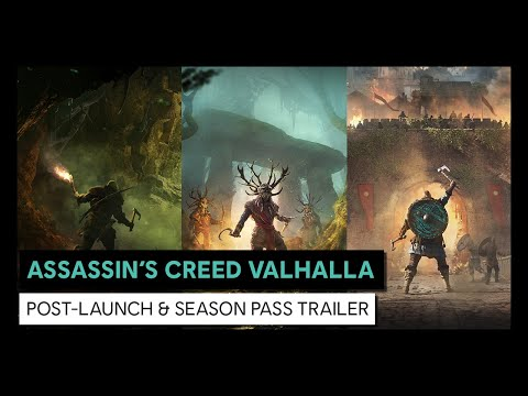 ASSASSIN'S CREED VALHALLA - Post-Launch & Season Pass Trailer