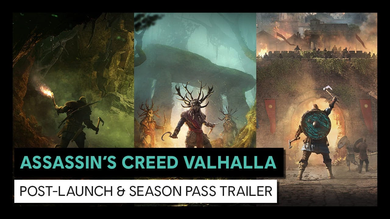 UBISOFT® REVEALS DETAILS FOR ASSASSIN'S CREED® VALHALLA POST-LAUNCH PLAN