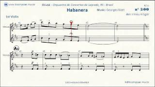 Video Habanera - Carmen (Georges Bizet) - 1st Violin download MP3, 3GP, MP4, WEBM, AVI, FLV September 2018