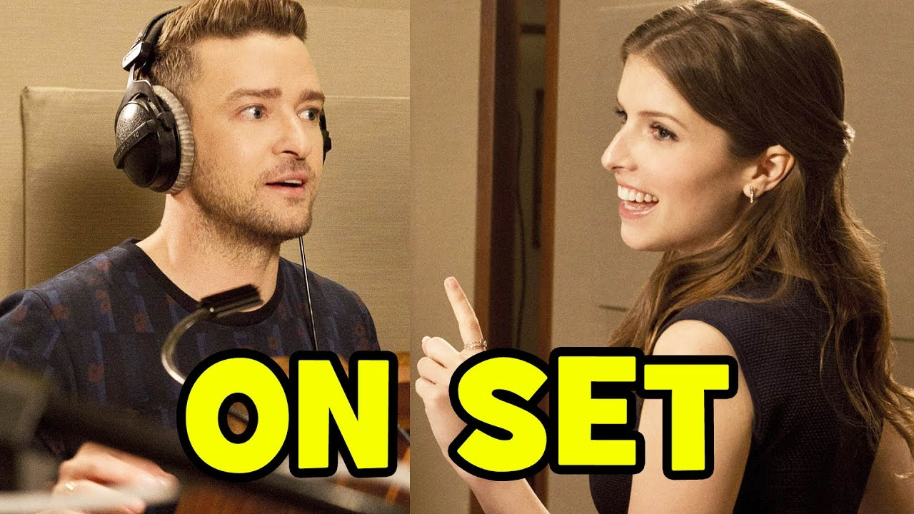 Behind The Scenes With TROLLS Cast Anna Kendrick Justin Timberlake