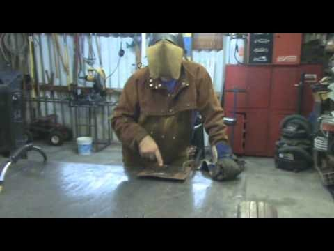 MIG Welding Setting Voltage and Wire Feed - Kevin Caron - YouTube
