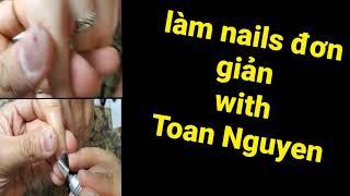 Cách làm nails đơn giản 76 : cách dũa nhám sao cho hiệu quả
