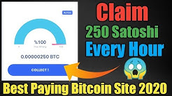 Bitcoin🤑Faucet Earn Daily 100000 🤑Satoshi Claim Every Hour |trusted site