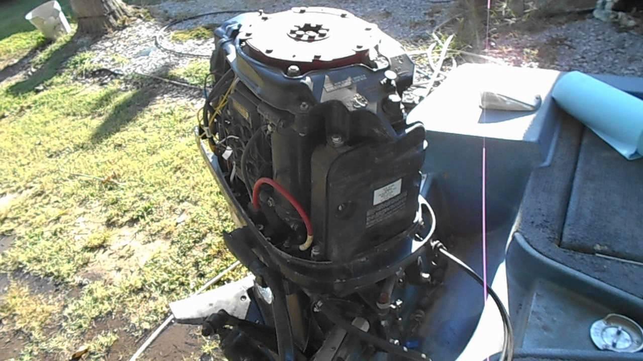 1978 mercury 800 80 hp outboard motor UpDate  YouTube