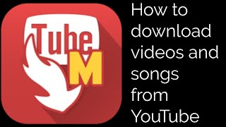 HOW TO DOWNLOAD VIDEOS AND SONGS FROM YOUTUBE! (MP4,M4A,MP3)