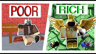 Povero al ricco (ROBLOX SOCIAL EXPERIMENT) W/ Linkmon99
