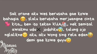 Status Wa Romantis Bahasa Jawa