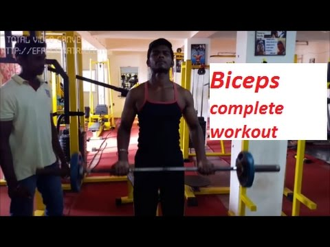 Follow this BICEPS WORKOUT routine for develop your BICEPS within 3months(Tamil/English)