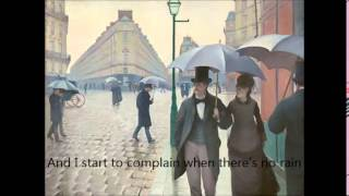 Lyrical Exploration Project- No Rain