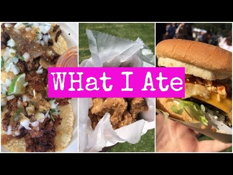WHAT I ATE AT EAT DRINK VEGAN ☾ Day In My Life