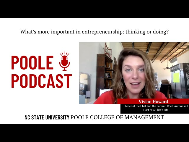 A Chef's Life after NC State | Poole Podcast