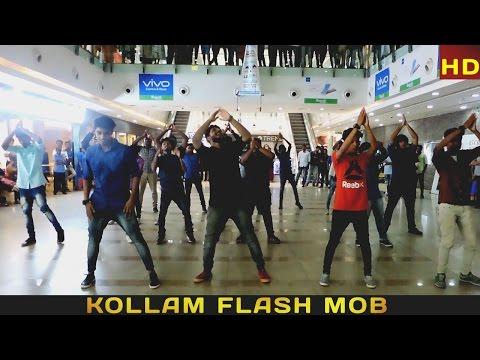 ഒരൊന്നൊന്നര FLASH MOB @ Kollam   RP Mall & Kollam Beach   #danceforcharity   Don Bosco College