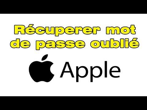 Comment Réinitialiser Mot De Passe Apple Oublié