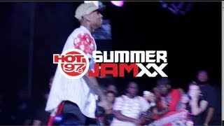 Behind The Scenes at HOT97 Summer Jam XX 2013