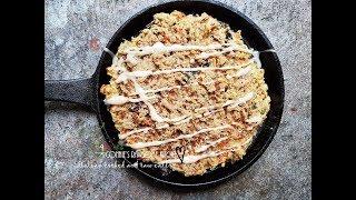SALTY SMOKEY GLUTEN-FREE CARROT RAISIN COOKIE CAKE WITH GLAZE | Connie's RAWsome kitchen