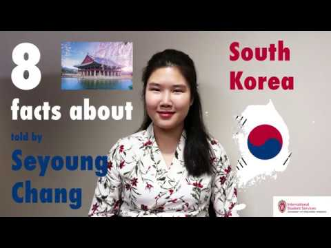 8 facts about South Korea told by Seyoung Chang