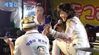 세월강 가수더나은 - 2018, 부여 연꽃축제 품바양푼이 초청 동그라미공연단 윤경아놀자 팀에 홍보차 출연