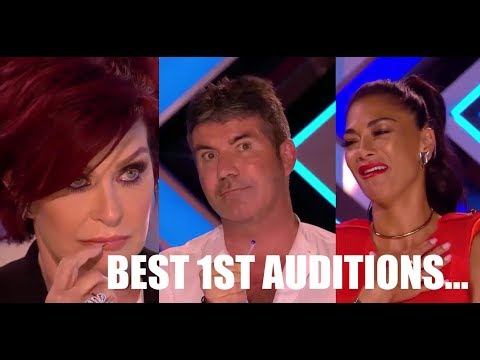TOP 10 MOST VIEWED 1ST AUDITION ON X FACTOR UK 2017