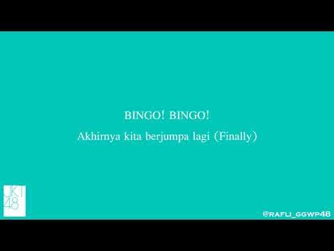 Lirik Bingo - JKT48