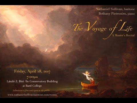 The Voyage of Life: Nathaniel Sullivan's Master's Degree Recital