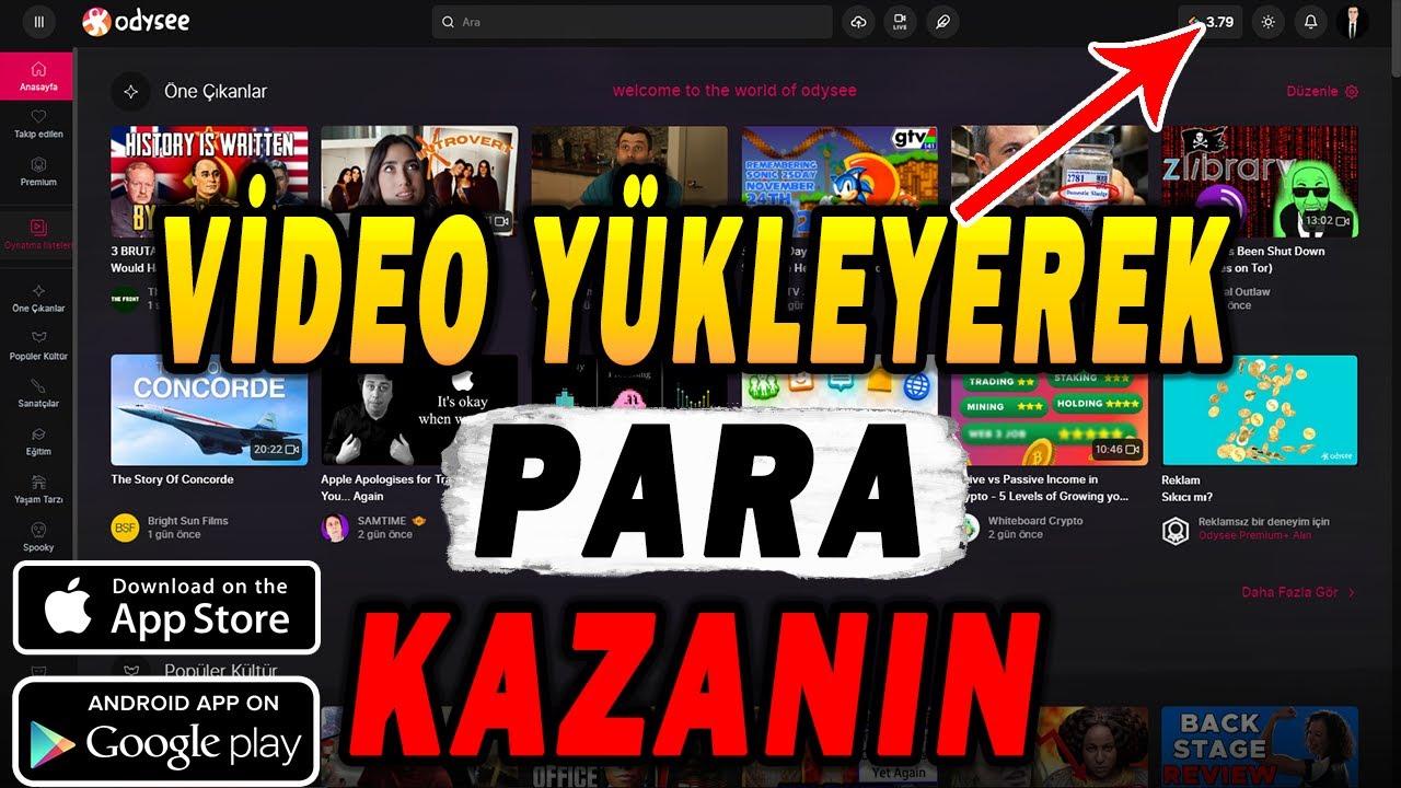 LBRY Credits İle Video Yükleyerek Para Kazanın! Earn LBC Coin By LBRY Credit System Listed Bittrex 3