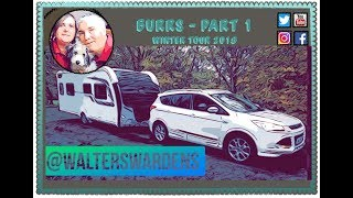 Burrs Country Park Caravan and Motorhome Club  - Part 1 - Bury Market #WinterTour2018