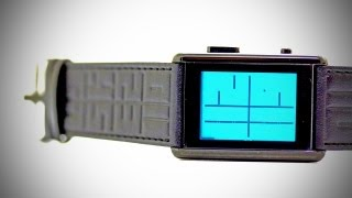 Watch From The FUTURE - TokyoFlash Kisai Stencil Watch Unboxing