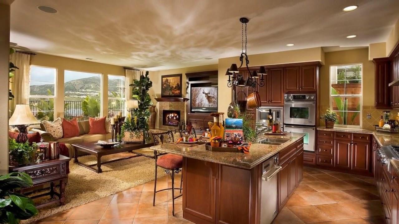 Open Floor Plan Decorating Living Room