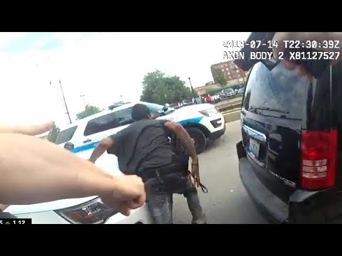 Bodycam footage released in Chicago police shooting