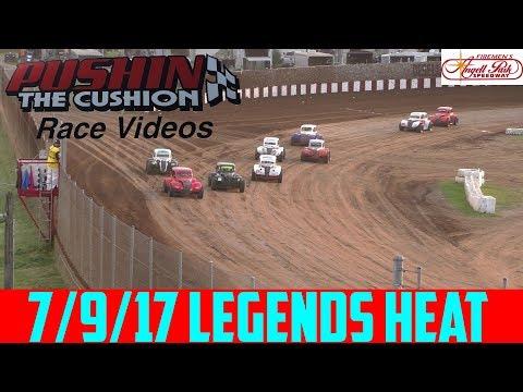 Angell Park Speedway - 7/9/17 - Legends Heat