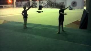 Хореография для художественной гимнастики