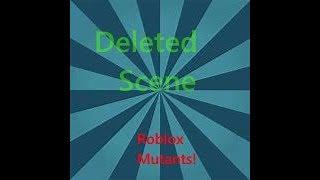 Roblox Cancella scena (Roblox i mutanti)