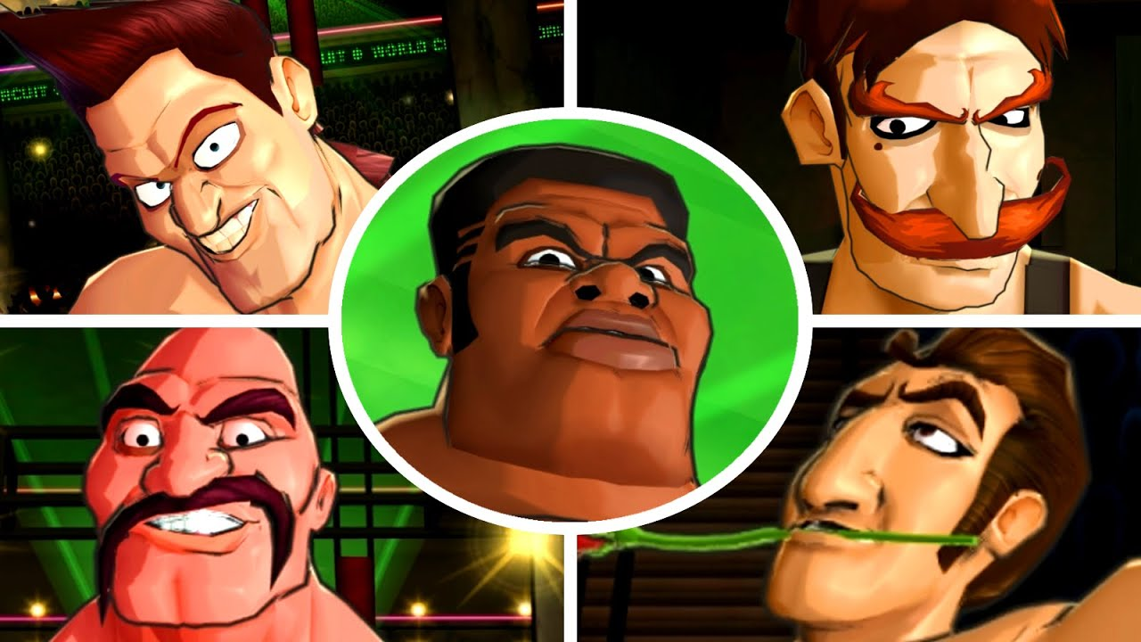 Punch-Out!! Wii HD - All Contender Opponents (No Damage)