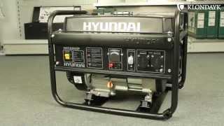 Бензиновый генератор Hyundai HHY 2200F смотреть