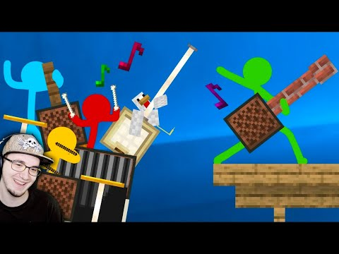 Animation Vs. Minecraft ► Битва Нотных Блоков Short Ep 16 (Анимация против Майнкрафта) | Реакция