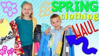 It's Springtime!! Family Fun Pack Spring Clothing Haul from ThredUP