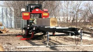 Portable Sawmill Timberking 1600 In Action