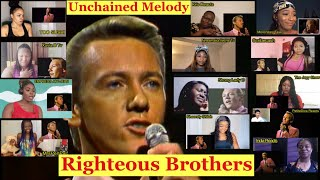 13 BLACK WOMEN AMAZING REACTION TO RIGHTEOUS BROTHERS UNCHAINED MELODY