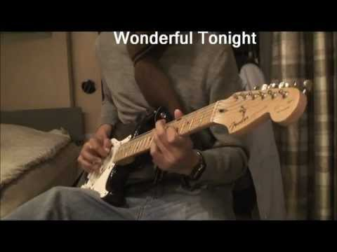 Wonderful Tonight Eric Clapton Guitar Instrumental *HD*