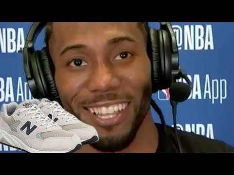 Kawhi Leonard ROASTED For Signing Sneaker Deal With New Balance