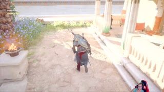 Ps4 assassin creed origins the cursed of the pharaohs god return