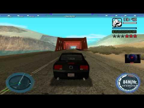 GTA: San Andreas - Shadow Rider Reloaded mod: K.I.3.T. 'B' transformations