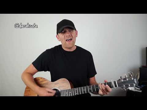 Jason Aldean When she says baby (Acoustic) : Cover : Derek Cate